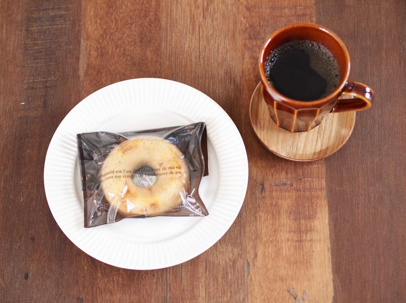 焼き菓子とコーヒーと。