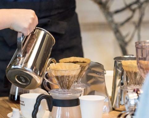 おいしいコーヒーの淹れ方講座が開催されました。